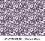 vector seamless pattern. cute... | Shutterstock .eps vector #453281533
