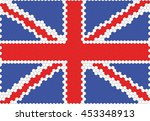 the flag of england is derived... | Shutterstock .eps vector #453348913