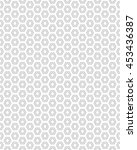 seamless gray pattern with ... | Shutterstock .eps vector #453436387