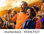Stadium Soccer Fans Emotions...