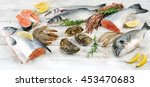Fresh Seafood. Healthy Diet...