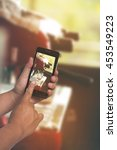 coffee series   coffee machine | Shutterstock . vector #453549223