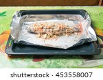 baked mackerel in foil with...