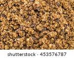 healthy granola muesli cereals... | Shutterstock . vector #453576787