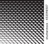 line halftone pattern with... | Shutterstock .eps vector #453598507