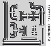 pipe | Shutterstock .eps vector #453611683