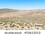in iran blur mountain and... | Shutterstock . vector #453612013