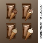 Vector Set Of White Classic An...