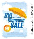Big Monsoon Sale Banner...