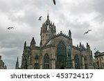 st. giles cathedral  edinburgh  ... | Shutterstock . vector #453724117