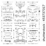 design elements | Shutterstock .eps vector #453737317