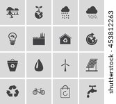 eco icons   Shutterstock .eps vector #453812263