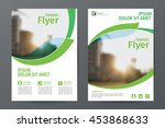 abstract  business  brochure... | Shutterstock .eps vector #453868633