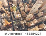 aerial view of midtown... | Shutterstock . vector #453884227