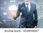 professional businessman... | Shutterstock . vector #453894067