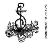 anchor icon | Shutterstock .eps vector #453916993