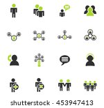 community web icons for user... | Shutterstock .eps vector #453947413