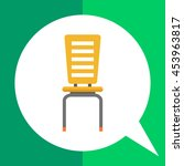 chair icon   Shutterstock .eps vector #453963817