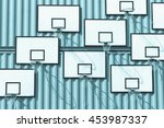 the abstract composition of... | Shutterstock . vector #453987337