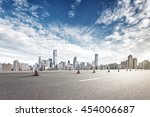 cityscape and skyline of... | Shutterstock . vector #454006687