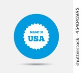 made in the usa icon. export... | Shutterstock .eps vector #454042693