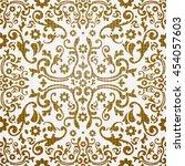 baroque seamless pattern   Shutterstock .eps vector #454057603