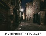 night view of beautiful italian ... | Shutterstock . vector #454066267