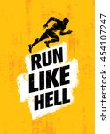 Run Like Hell Creative Sport...