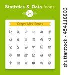 vector line statistics data...
