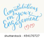 congratulations on your... | Shutterstock .eps vector #454170727