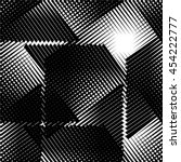 seamless geometric pattern.... | Shutterstock .eps vector #454222777