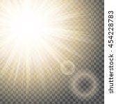 Sun Rays With Hotspot And Flar...