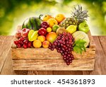 Wooden Farm Crate Filled With...