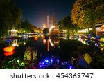 The Lake At Tivoli Gardens At...