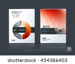 brochure template layout  cover ... | Shutterstock .eps vector #454386403