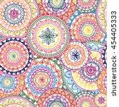 mandalas.indian vintage...   Shutterstock .eps vector #454405333