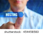 Hosting Title Button  Hosting...