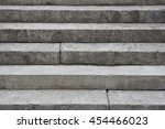stone stairs detail | Shutterstock . vector #454466023