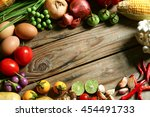 include fresh organic... | Shutterstock . vector #454491733