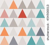 simple geometric background.... | Shutterstock .eps vector #454500013