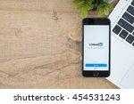 chiang mai  thailand   jul 18... | Shutterstock . vector #454531243