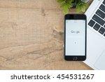 chiang mai  thailand   jul 18... | Shutterstock . vector #454531267