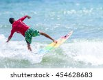 phuket   july 17  unidentified... | Shutterstock . vector #454628683