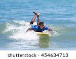 phuket   july 17  unidentified...   Shutterstock . vector #454634713