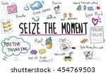 mindfulness optimism relax... | Shutterstock . vector #454769503