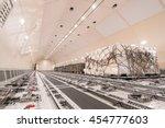 air cargo freighter | Shutterstock . vector #454777603