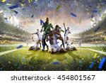Collage Adult Soccer Players I...
