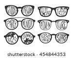 travel concept vector... | Shutterstock .eps vector #454844353
