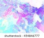 abstract watercolor art . hand... | Shutterstock . vector #454846777