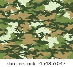 fashionable camouflage pattern  ... | Shutterstock .eps vector #454859047